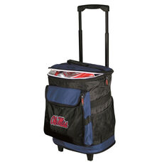 University of Mississippi Team Logo Rolling Cooler