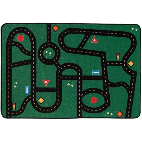 Our Kids Value Go-Go Driving Rectangular Nylon Rug - 48