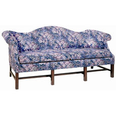4200 Sofa with Chippendale Legs, Upholstered Spring Back & Seat - Grade 1