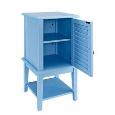 Shutter Door Table - Ocean Blue