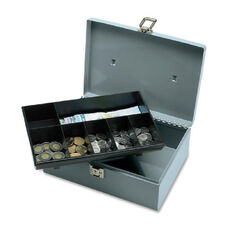 Sparco All-Steel Cash Box withLatch Lock