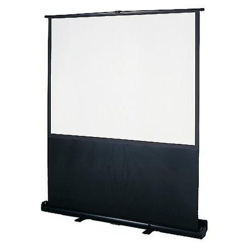 Floor Mounted Pull Up ImagePro Screen in Steel Housing and Legs - 80