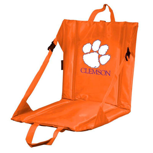 Clemson University Team Logo Bi-Fold Stadium Seat