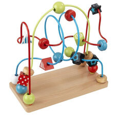 Early Childhood Development Eye-Hand Coordination Wooden Bead Maze