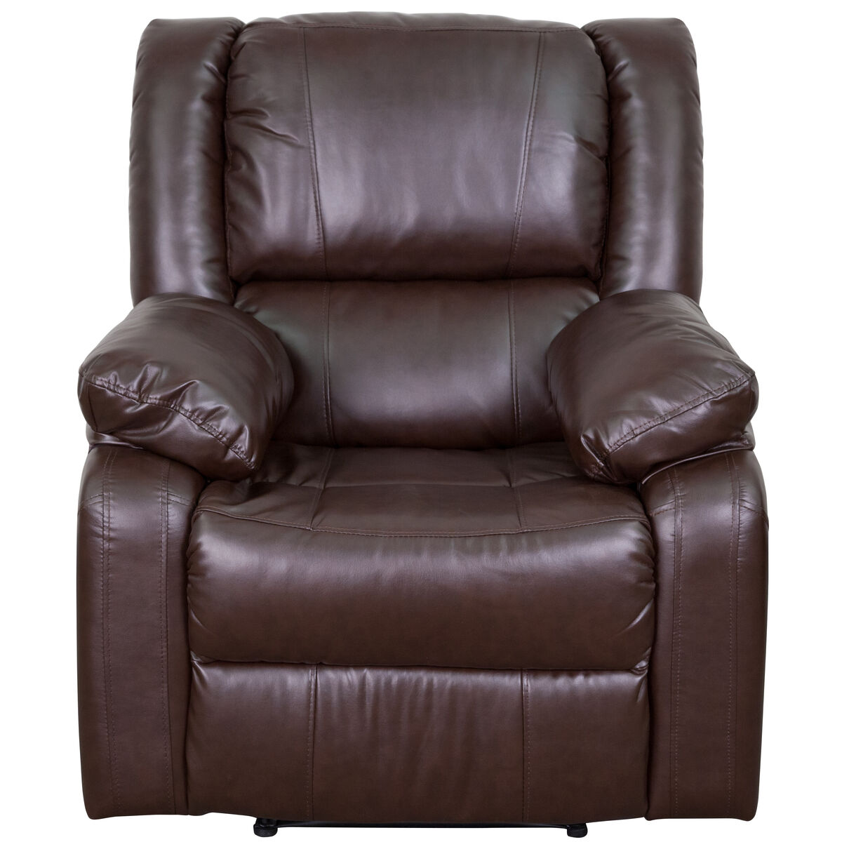 Our Harmony Series Brown Leather Recliner Is On Now
