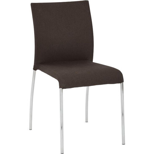 Our Ave Six Conway Stacking Chair - Set of 4 - Chocolate is on sale now.