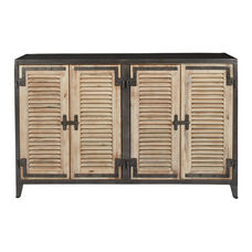 Inspired By Bassett Marbella Console with 4 Doors