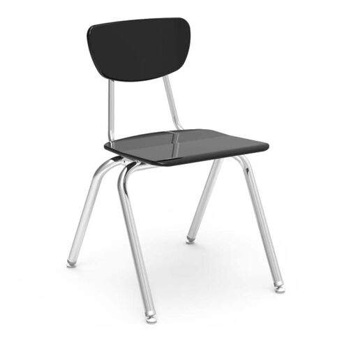 3000 Series Hard Plastic Stack Chair with 18.25