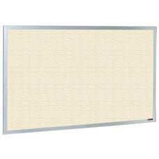 800 Series Type CO Aluminum Frame Tackboard - Fabricork - 72