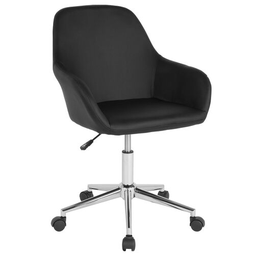 Our Cortana Home and Office Mid-Back Chair in Black LeatherSoft is on sale now.