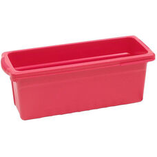 Royal Small Open Environmentally Friendly Tough Plastic Tub - Red - 6