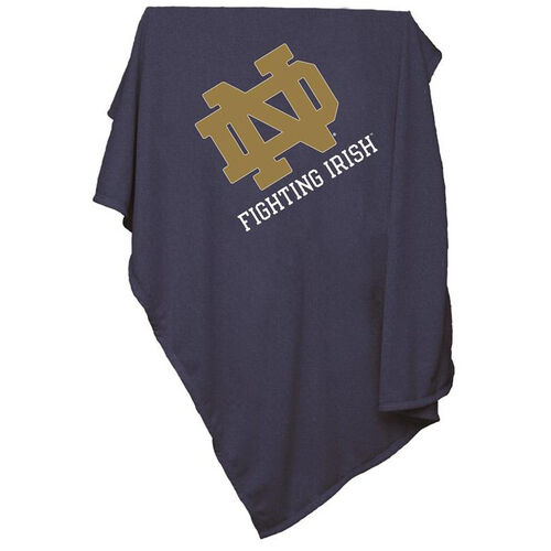 Our University of Notre Dame Team Logo Sweatshirt Blanket is on sale now.