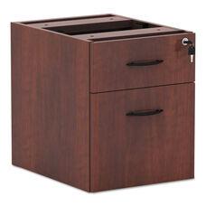 Alera® Valencia Series 3/4 Box/File Pedestal - 15 5/8 x 20 1/2 x 19 1/4 - Medium Cherry