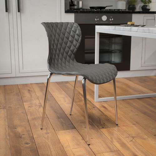 Lowell Contemporary Design Plastic Stack Chair