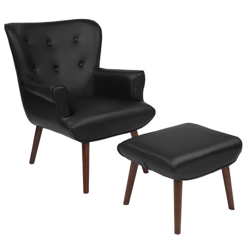 Our Bayton Upholstered Wingback Chair with Ottoman is on sale now.