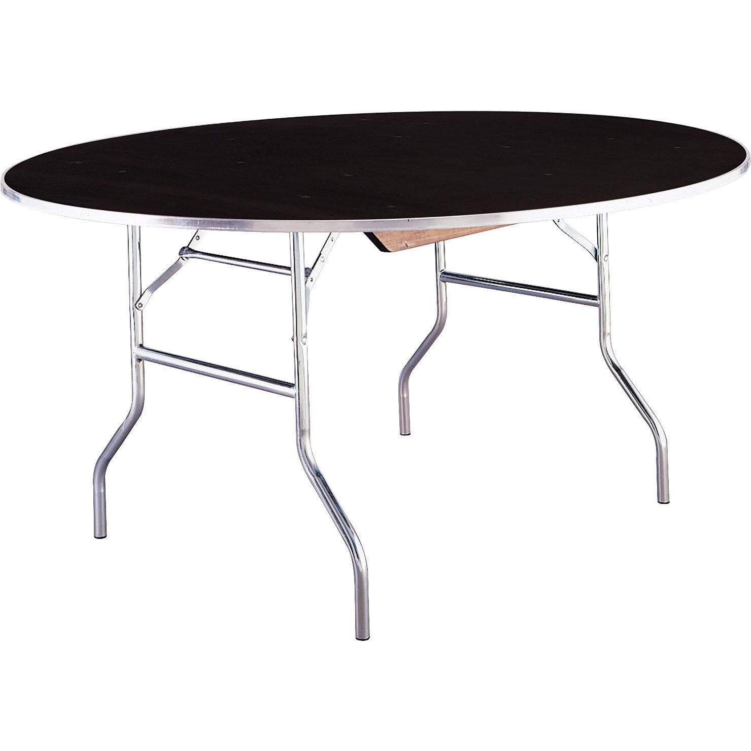 ... Our Standard Series 72u0027u0027 Round Folding Banquet Table With Laminate Top  Is On Sale