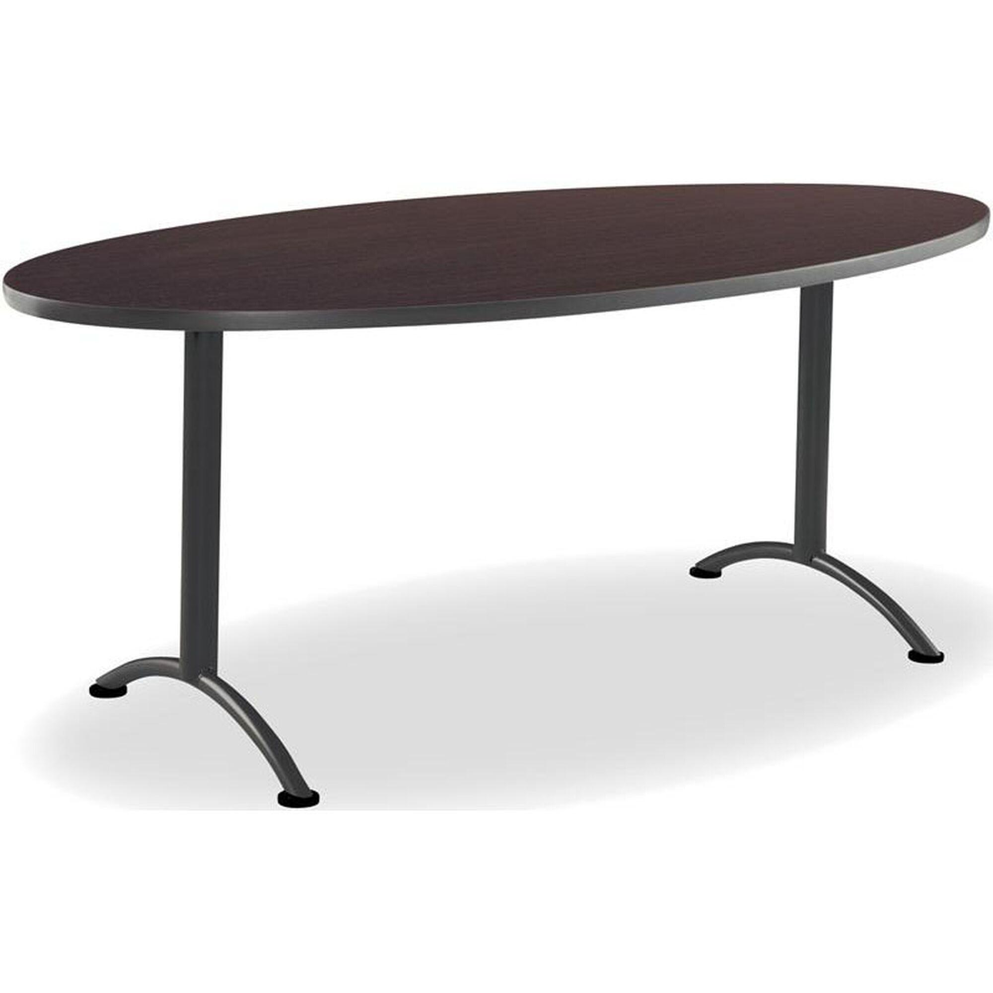 Oval Table Fixed 2 Leg Base 69424 Bizchair Com