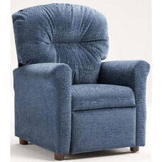 Kids Recliner with Rolled Arms - Raven Navy