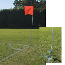 Alumagoal® Soccer PVC Corner Flags - Red