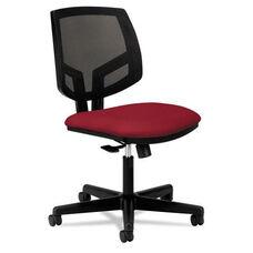 HON® Volt Series Mesh Back Task Chair - Crimson Fabric