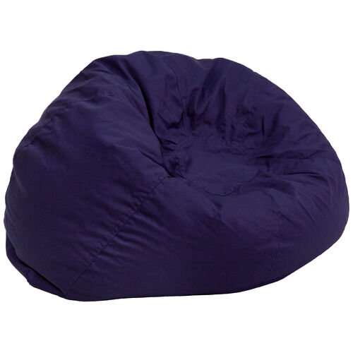 Our Oversized Solid Navy Blue Bean Bag Chair is on sale now - navy blue bean bag chair