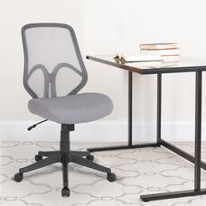Salerno Series High Back Light Gray Mesh Office Chair