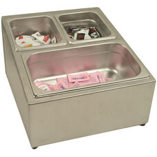 Stainless Steel Condiment Pack Holder