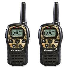 Midland Radio Lxt535Vp3 24-Mile Range 2-Way Radio - Pack Of 2