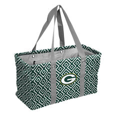 Green Bay Packers Team Logo Double Diamond Picnic Carry All Caddy