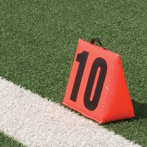 Solid Sideline Markers with Handle - Set of 5