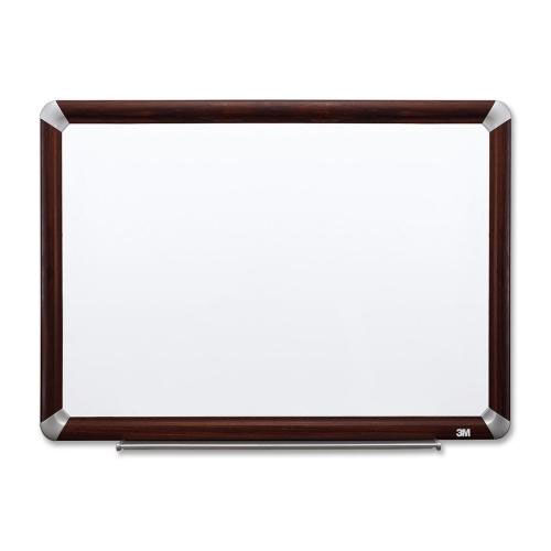 Our 3M Dry -Erase Board -withMarker/Accessory Tray - Mahogany is on sale now.
