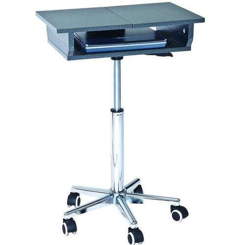 Our Techni Mobili Folding Table Laptop Cart - Graphite is on sale now.