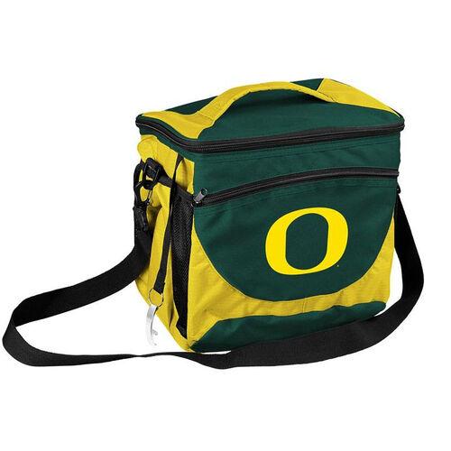 University of Oregon Team Logo 24 Can Cooler