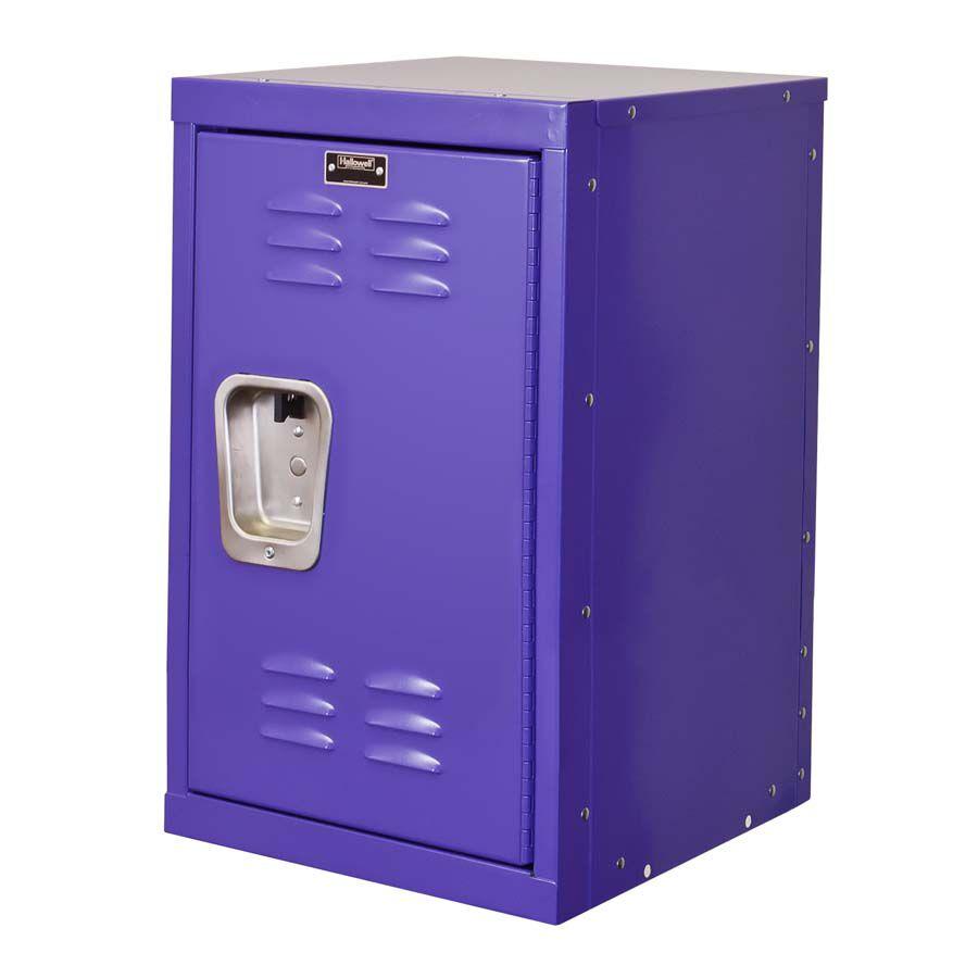 Pep Rally Purple Kids Mini Locker   Unassembled   15