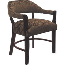 2911 Banker Chair with Upholstered Back & Nailhead Trim Spring Seat - Grade 1