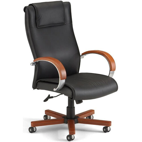 Our Apex Leather Executive High-Back Chair - Black is on sale now.