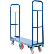 High-End Platform Truck With Non-Marking Polyurethane Wheels 24