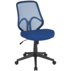 Salerno Series High Back Navy Mesh Office Chair