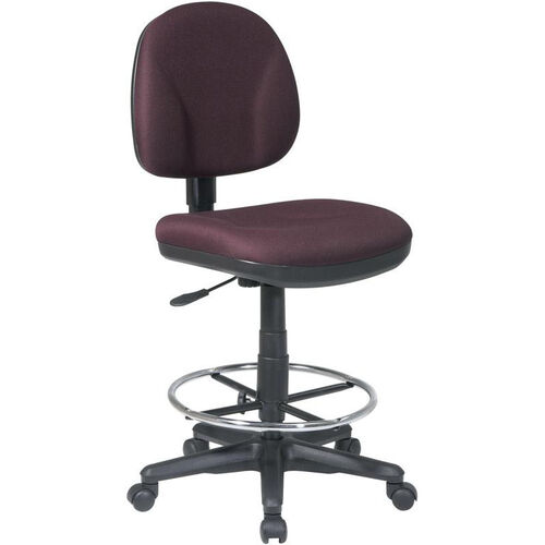 Our Work Smart Armless Drafting Chair with Adjustable Footring and Casters is on sale now.