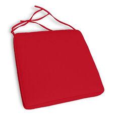 Florida Dining Chair Cushion - Logo Red