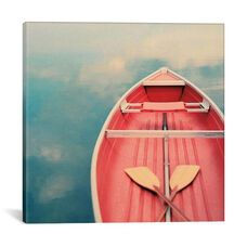 Floating on a Cloud by Alicia Bock Gallery Wrapped Canvas Artwork - 26