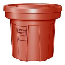 22 Gallon Cobra Food Grade/General Use Trash Can - Red