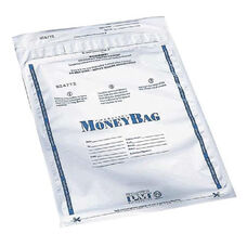 PM SecurIT Plastic Disposable Deposit Money Bag - 12