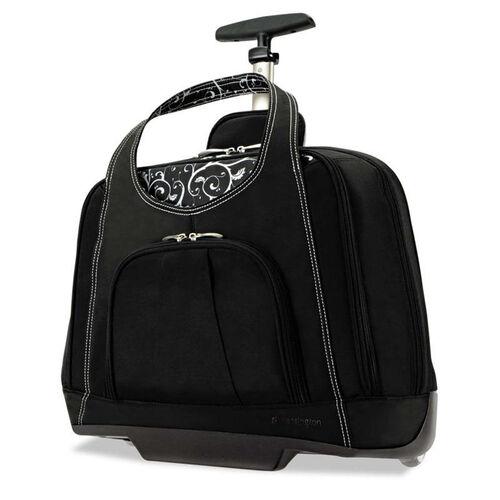 Our Kensington® Contour Balance Rolling Netbook Case - 18w x 9d x 13-1/2h - Black is on sale now.