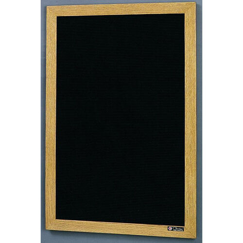 Our 350 Series Open Face Directory with Wood Frame - 48