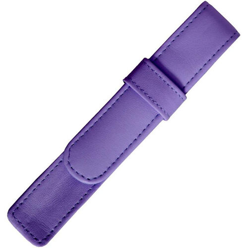 Our Single Pen Case - Genuine Leather - Purple is on sale now.