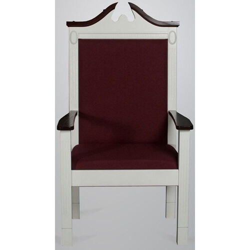 Our Red Oak Colonial Finish Side Pulpit Chair is on sale now.