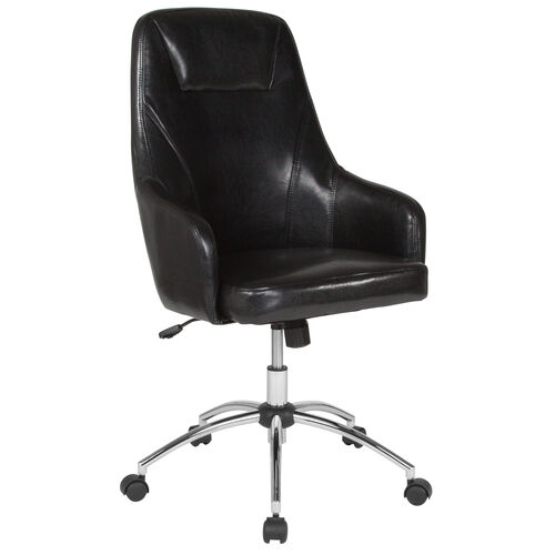 Our Rennes Home and Office Upholstered High Back Chair in Black LeatherSoft is on sale now.