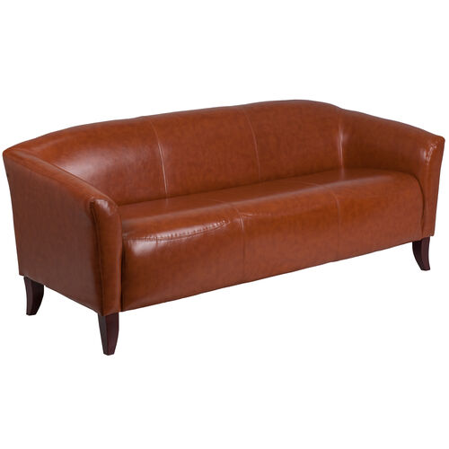 Our HERCULES Imperial Series Cognac LeatherSoft Sofa is on sale now.