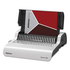 Fellowes® Pulsar Electric Comb Binding System - 300 Sheets - 17 x 15 3/8 x 5 1/8 - White